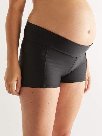 Maternity Boyshort Swim Bottom