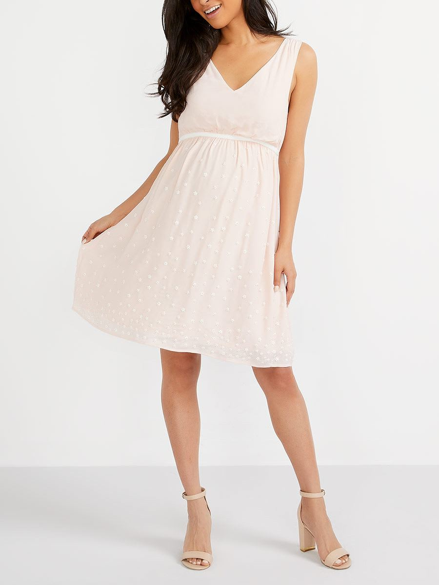 Stork & Babe - Maternity Dress with Beads