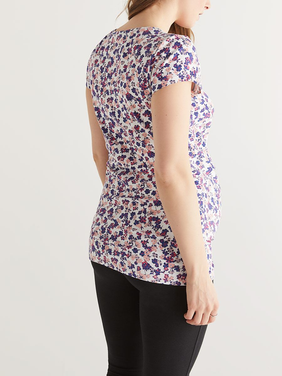 Cotton Printed Nursing T-Shirt