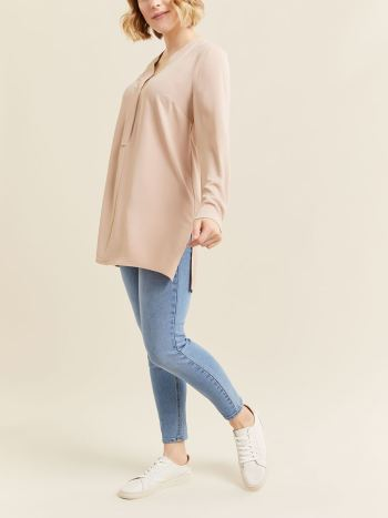 V-Neck Nursing & Maternity Blouse