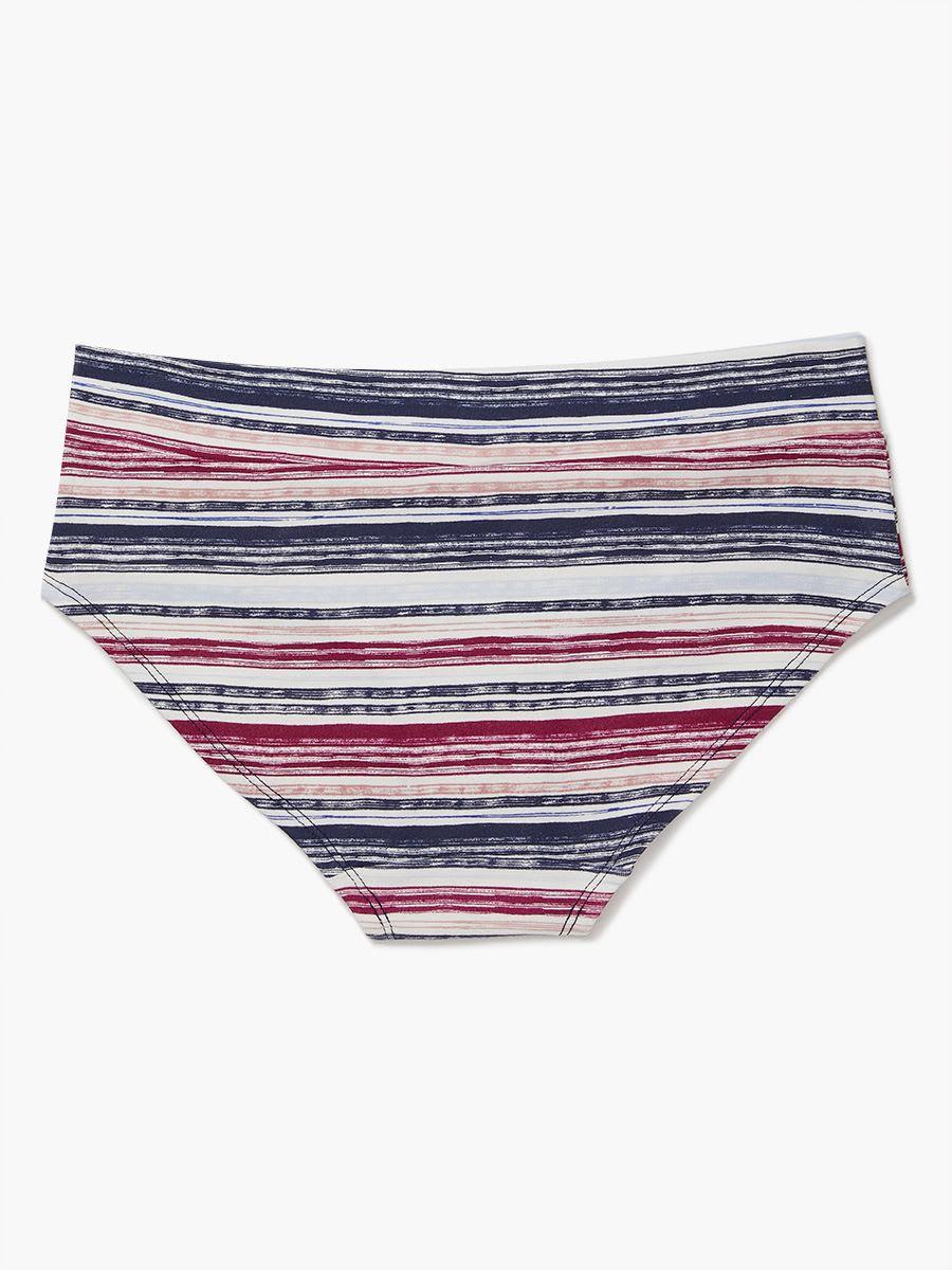 60718db381 Striped Hipster Maternity Panty