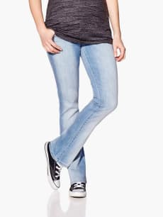 Light Wash Bootcut Maternity Jean