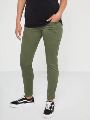 Sateen Super Skinny Maternity Pant