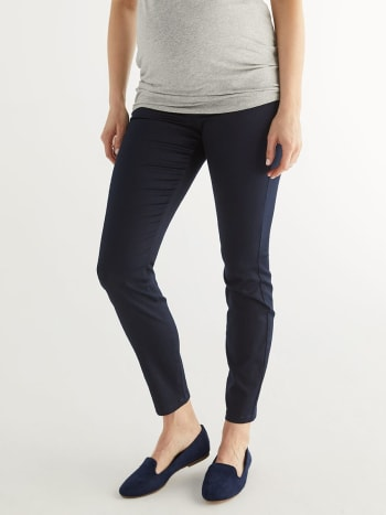 Super Skinny Sateen Plus Size Maternity Pant