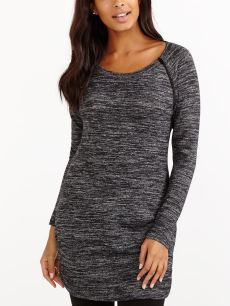 Long Sleeve Knit Nursing Top