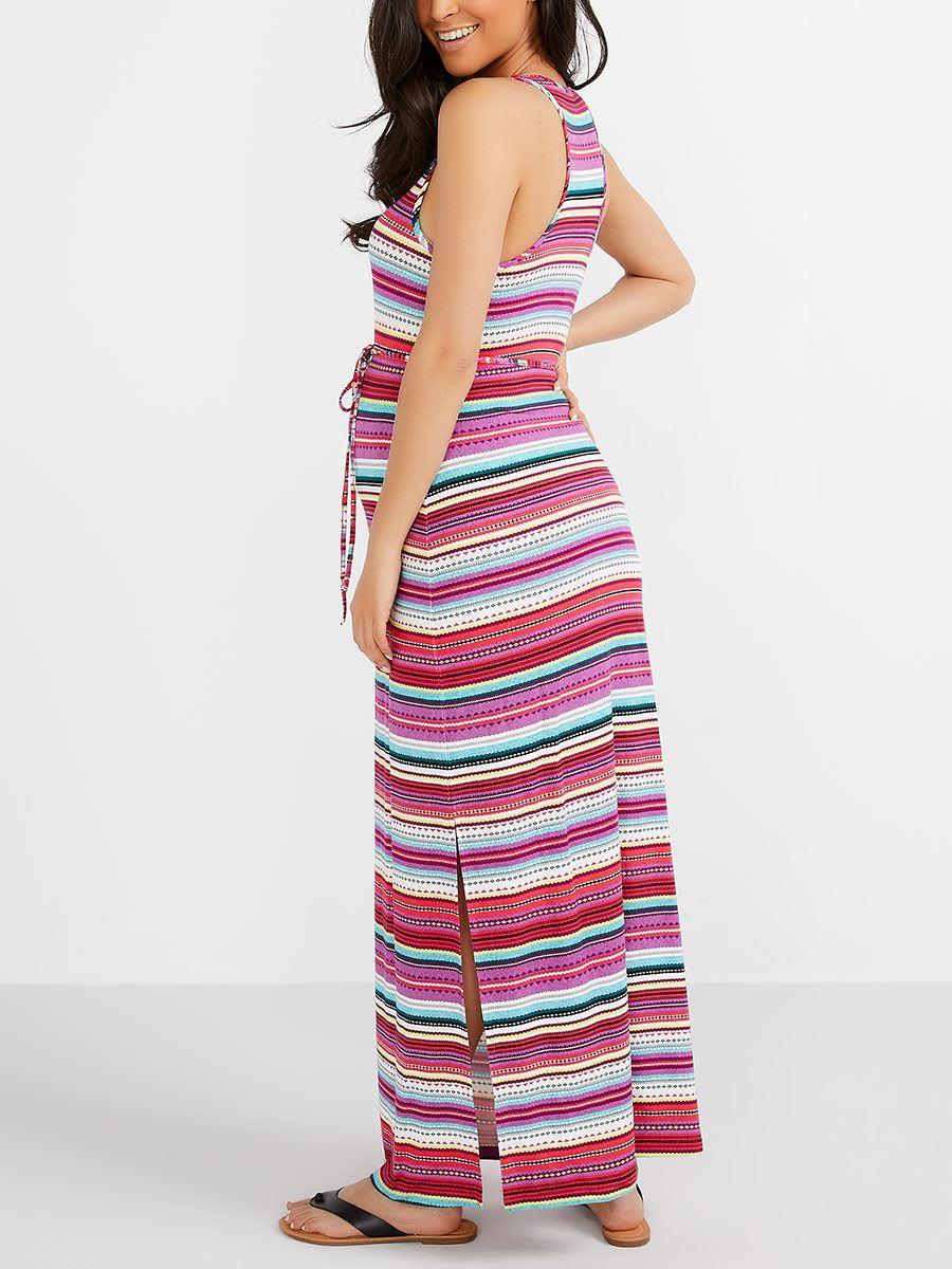 f8460c180045e Striped Maternity Maxi Dress | Thyme Maternity