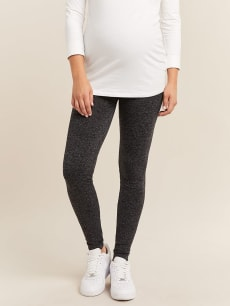 Seamless 2-Tone Maternity Legging