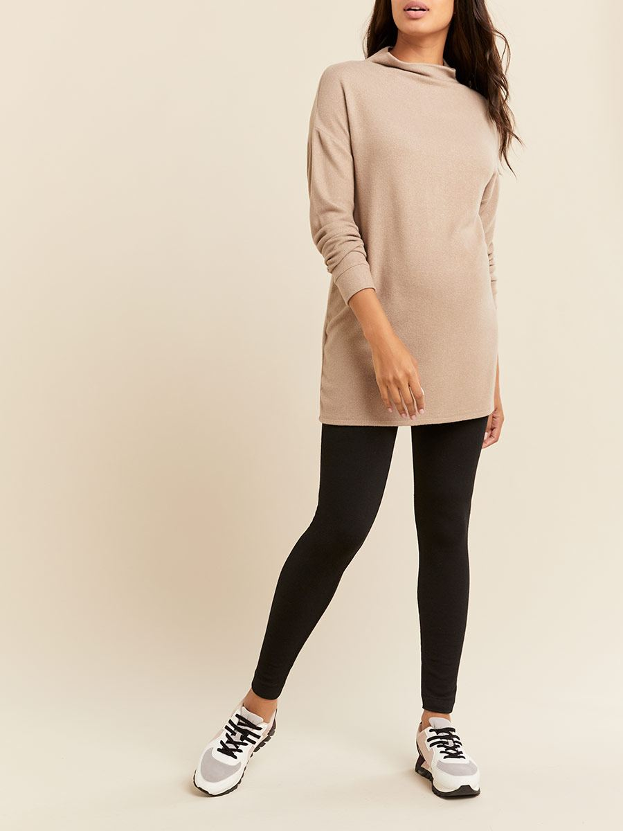 French Terry Seamless Maternity Legging