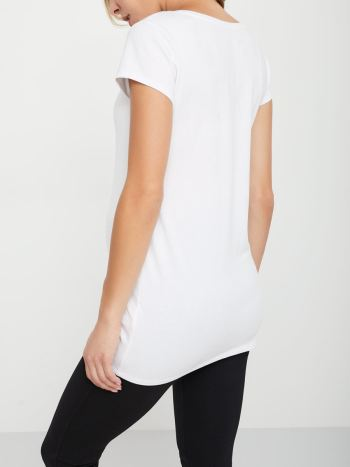 V-Neck Maternity T-Shirt