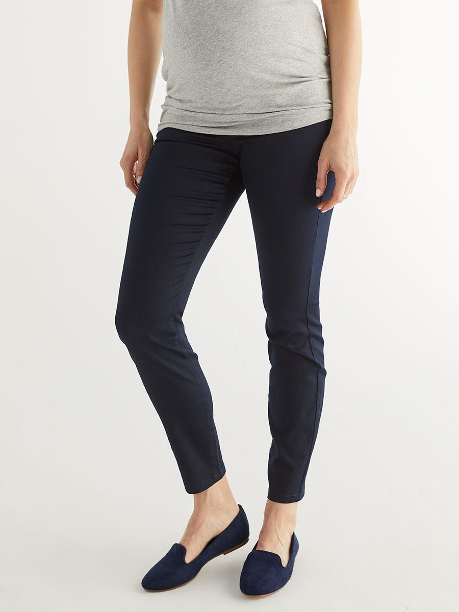 Super Skinny Sateen Maternity Pant