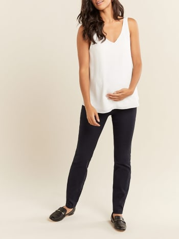 Sleeveless Maternity Blouse