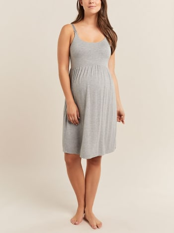 Scoop Neck Nursing Nightie