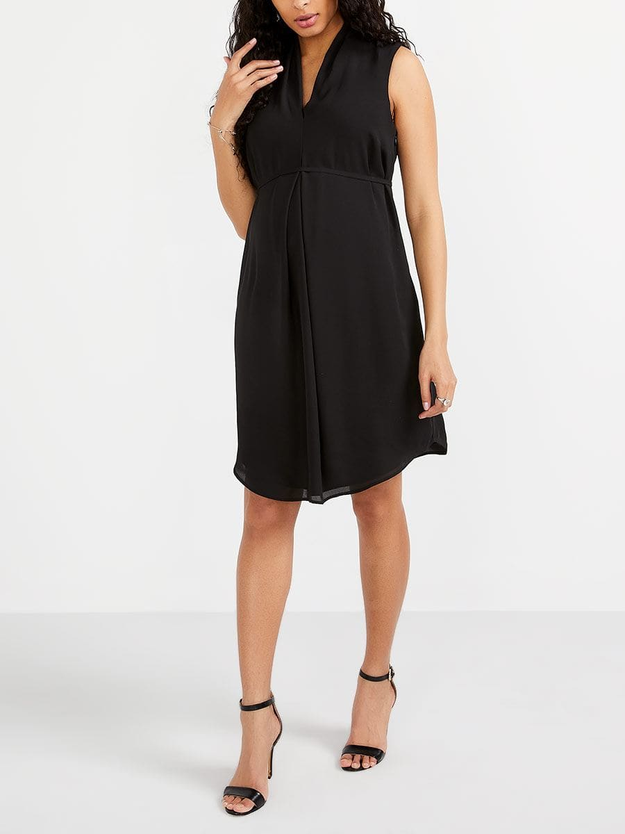Stork & Babe - Solid Maternity Dress