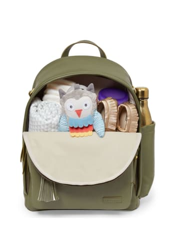 Skip Hop - Greenwich Khaki Backpack Diaper Bag
