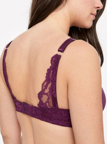 Demi Cup Underwire Nursing Bra with Lace