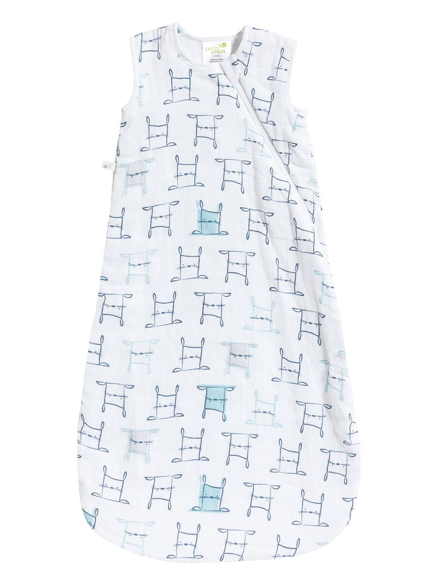 Perlimpinpin - Printed Muslin Baby Sleep Bag