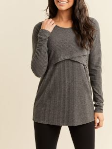 Long Sleeve Soft Touch Nursing Top