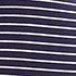 Navy and White Stripes-