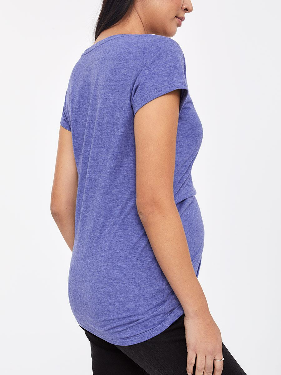 Short Sleeve Nursing Top