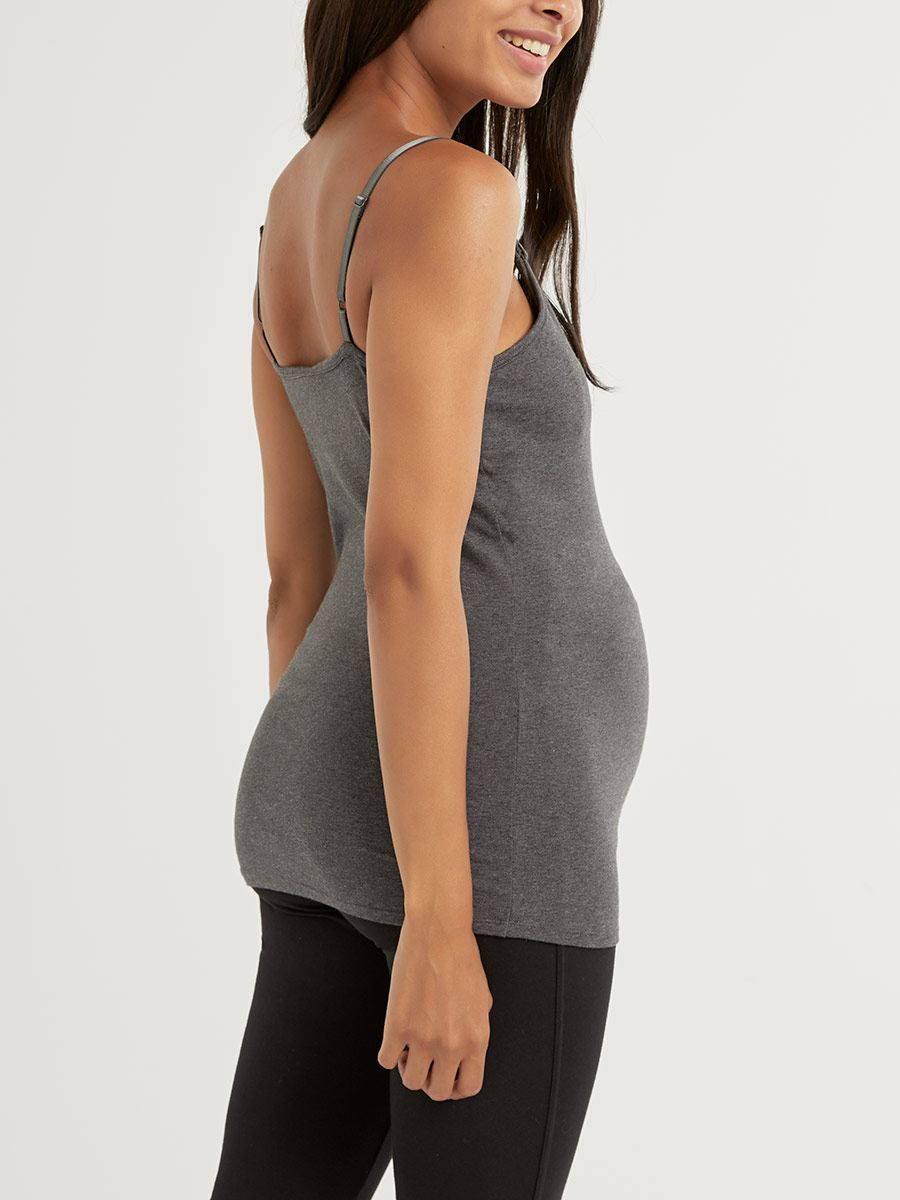 Long Nursing Tank Top