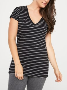 Printed Cotton Nursing T-Shirt