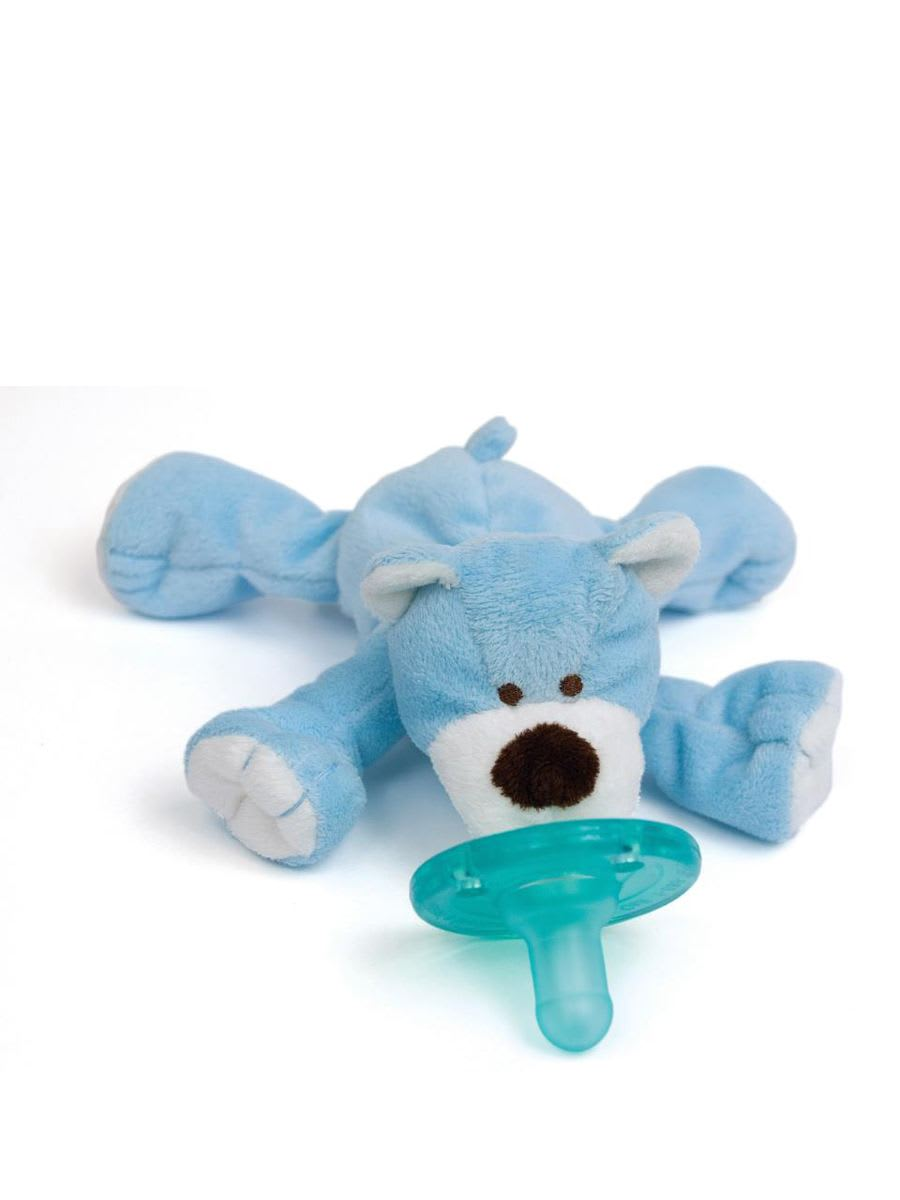 WubbaNub - Blue Bear Pacifier