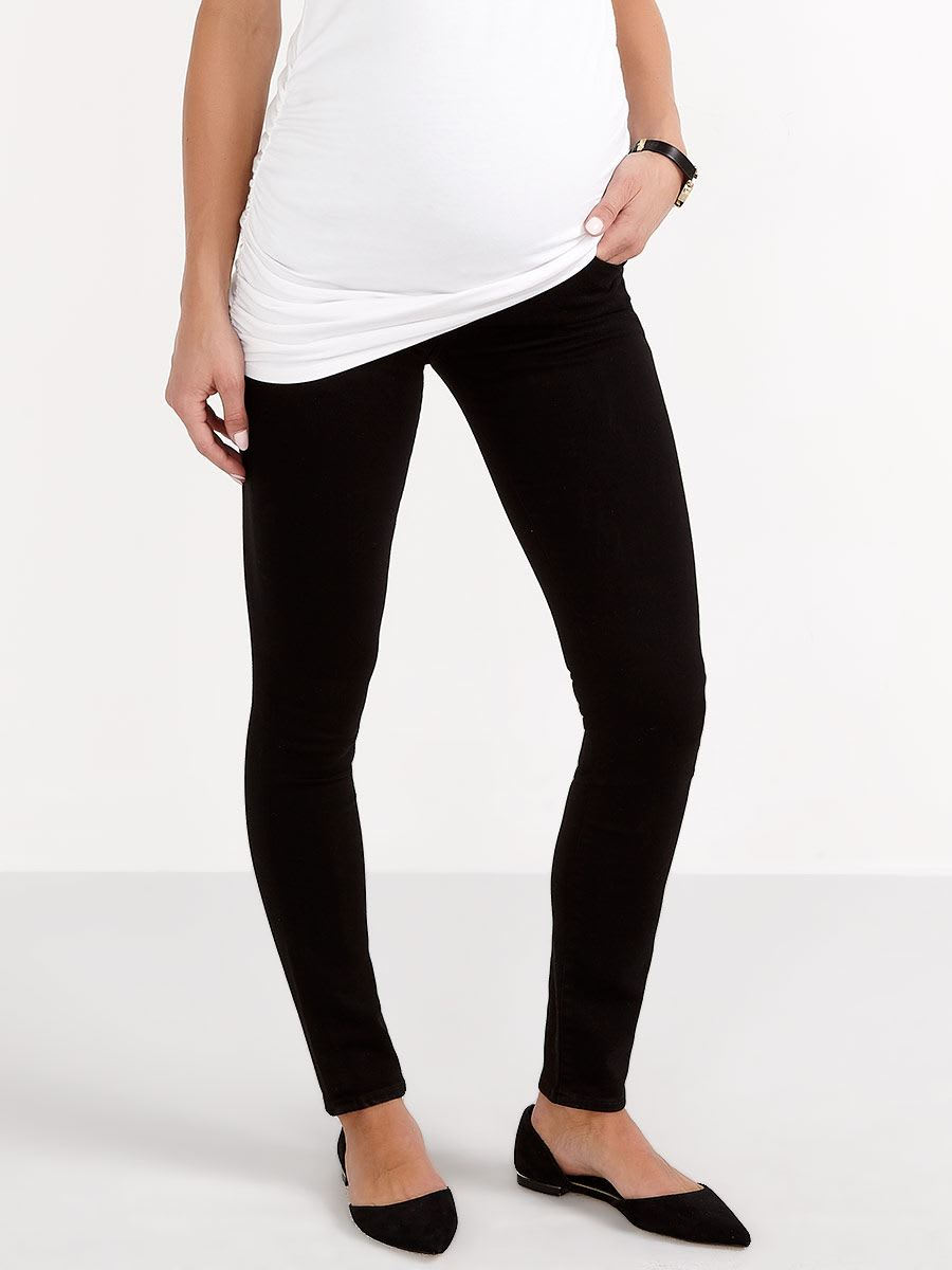 Citizens of Humanity - Avedon Black Skinny Maternity Jean