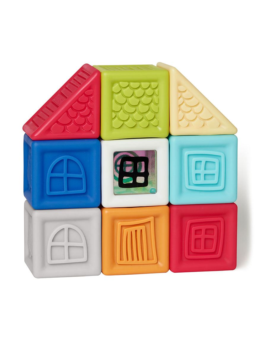 Skip Hop - Vibrant Village Squeeze and Squeak Blocks