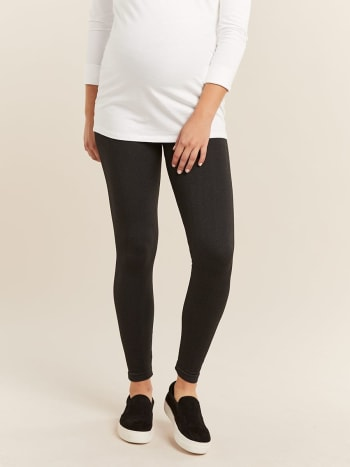 afc80e4275268b Maternity Leggings: Shop Online | Thyme Maternity Canada
