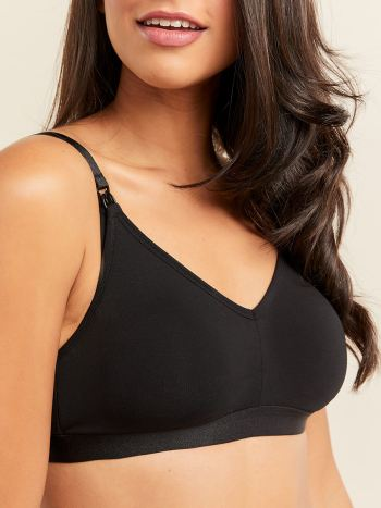 Cotton Nursing Bralette