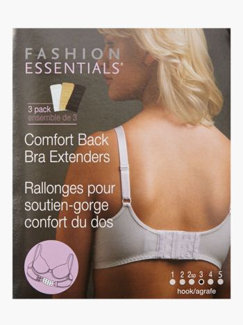 3-Hook Bra Extenders - Set of 3