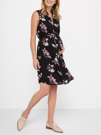 Maternity Pregnancy Dresses Buy Online Thyme Maternity Canada