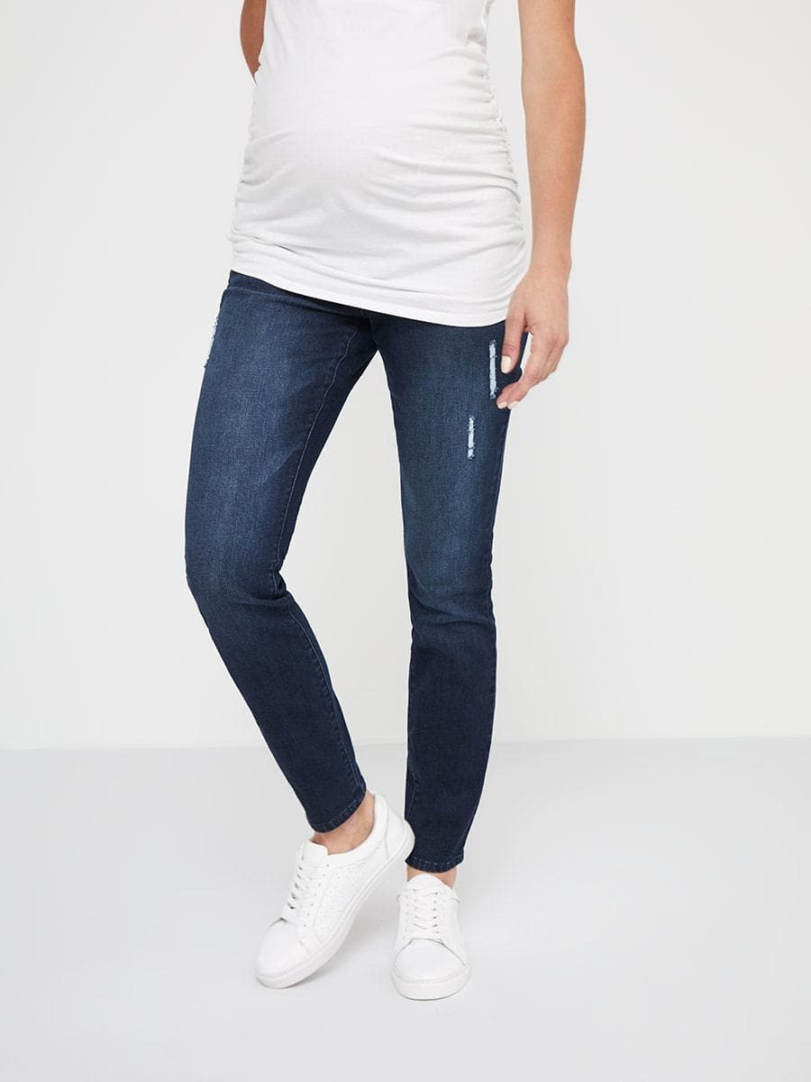 Now & After Skinny Maternity Jean