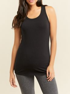 Scoop Neck Maternity Tank Top
