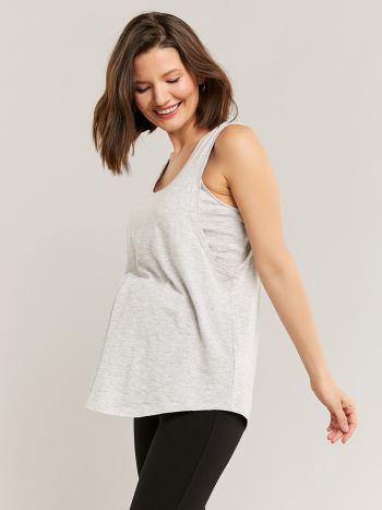 Racerback Nursing & Maternity Tank Top
