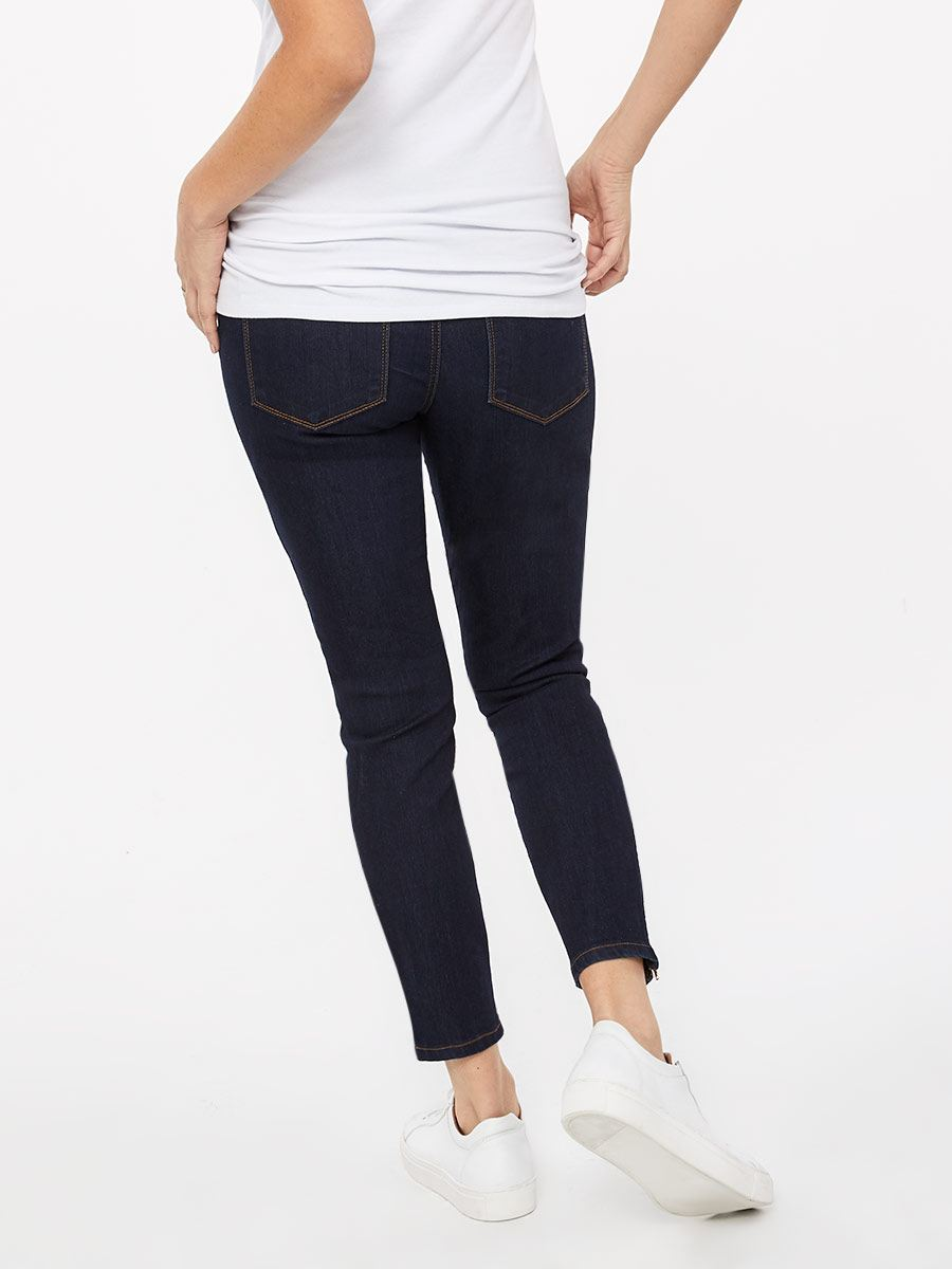 Yoga Jeans - Maternity Jean with Zip Detail