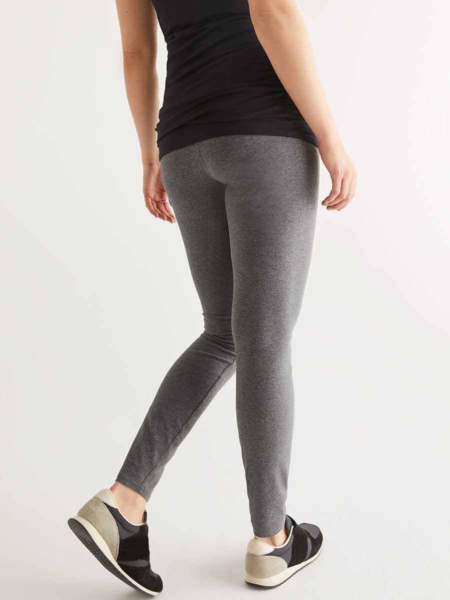 Grey Jersey Maternity Legging