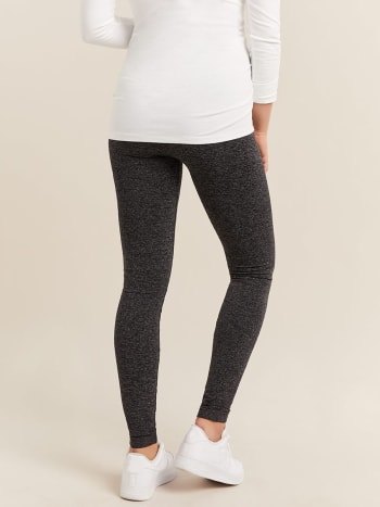 Legging de maternité sans coutures 2 tons