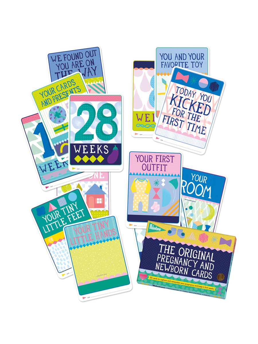 Milestone Baby and Newborn Photo Cards