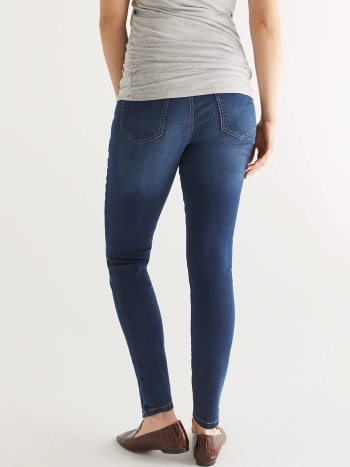 Tall Dark Wash Super Skinny Maternity Jean