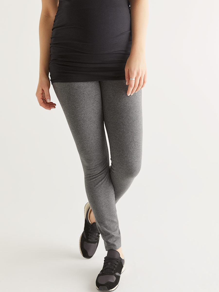 Basic Cotton Spandex Maternity Legging