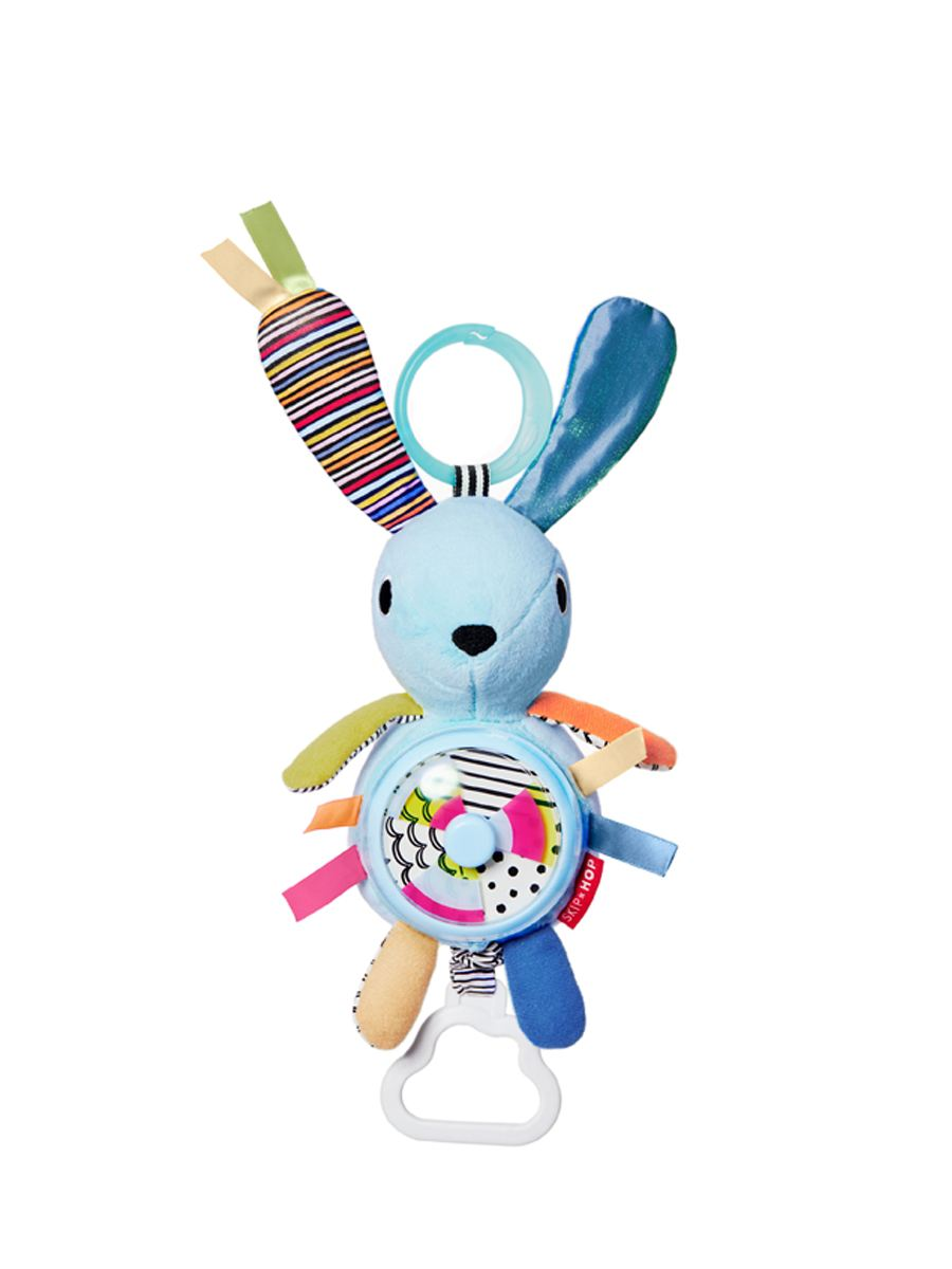 Skip Hop - Vibrant Village Pull & Spin Activity Bunny