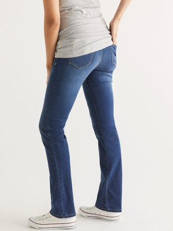 Dark Blue Bootcut Maternity Jean