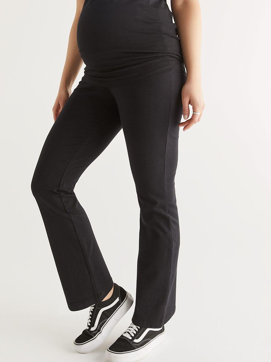 549cabc50cd80 Cotton Maternity Yoga Pant | Thyme Maternity