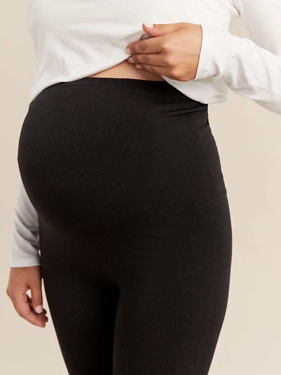 Seamless Fleece Maternity Legging
