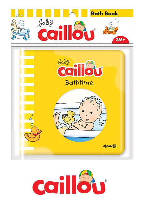 Bath book caillou