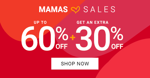 Mama sale: Extra 30% off