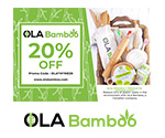20% off coupon on eco-friendly lifestyle products