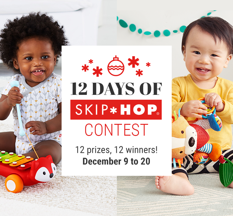 12 DAYS OF SKIP HOP CONTEST