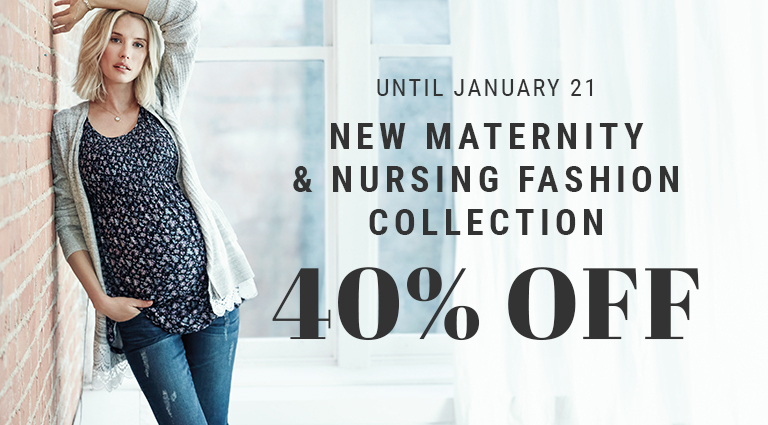 40% off featured fashion collection